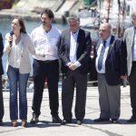 Fotos MGP - Arroyo, Vidal y Prat Gay - Anuncio fondos para reactivacion del Puerto